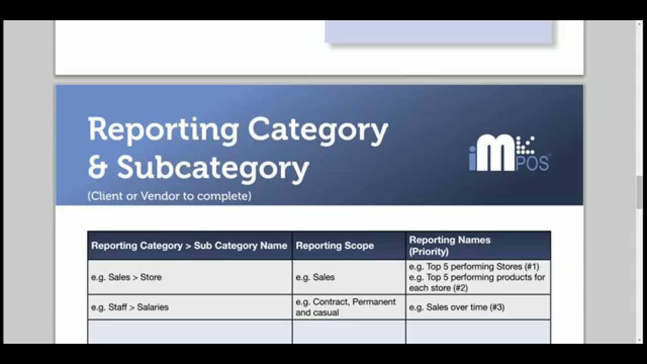 1 - Yellowfin Report Specification Template - Youtube Within Report Specification Template
