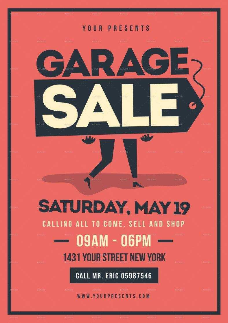 14+ Garage Sale Flyer Designs & Templates - Psd, Ai | Free Intended For Garage Sale Flyer Template Word
