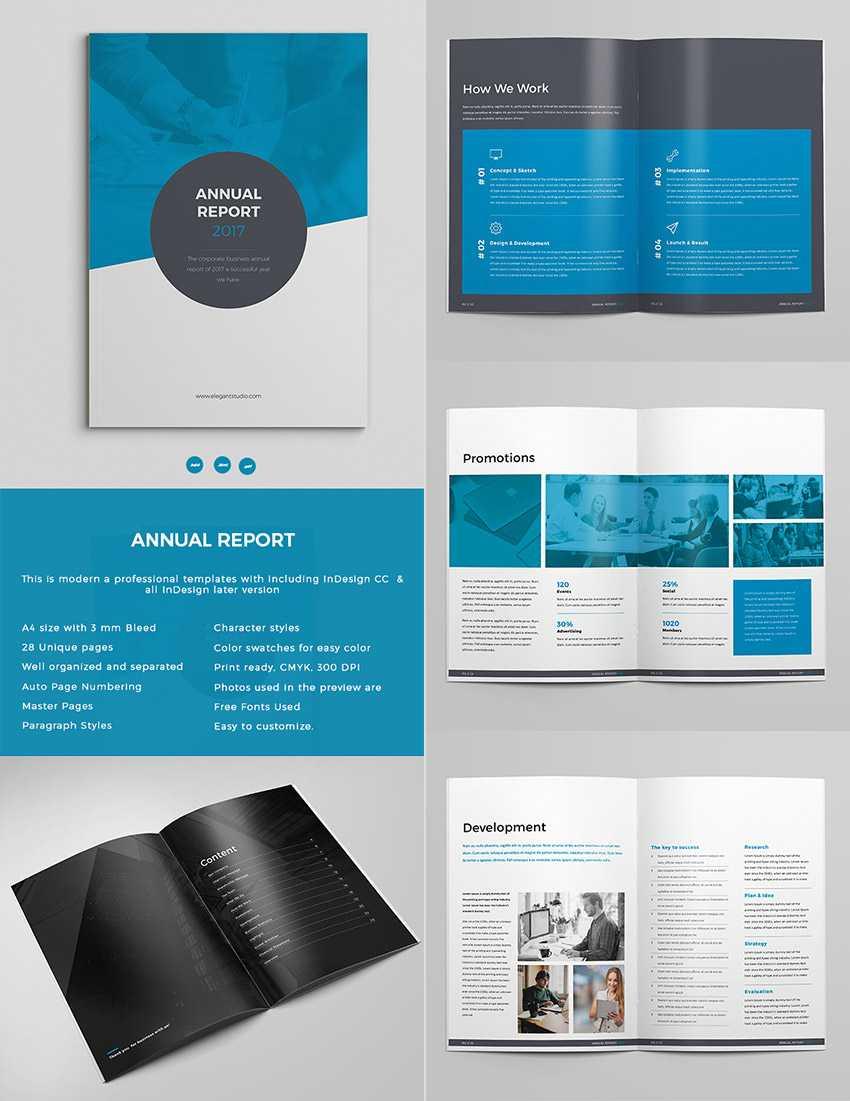15+ Шаблонів Для Річного Звіту З Неймовірними Макетами Indesign With Free Annual Report Template Indesign