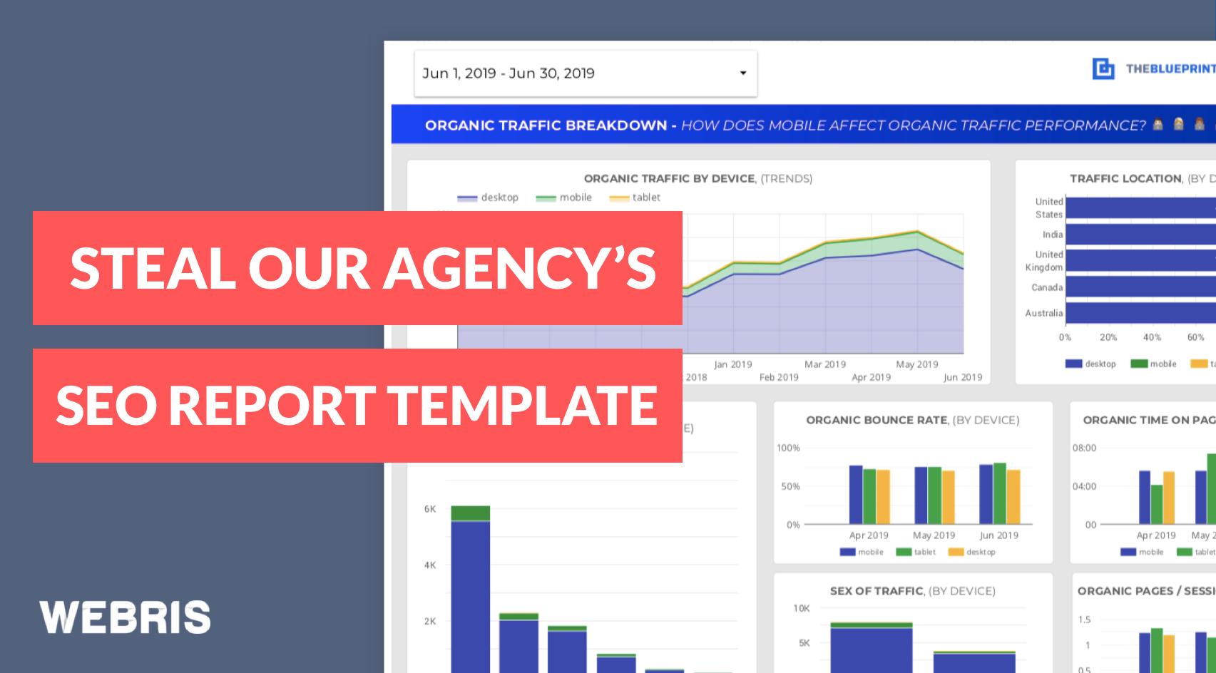 15 Free Seo Report Templates - Use Our Google Data Studio Regarding Seo Report Template Download