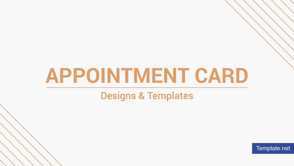 17+ Appointment Card Designs & Templates In Indesign, Psd With Regard To Appointment Card Template Word