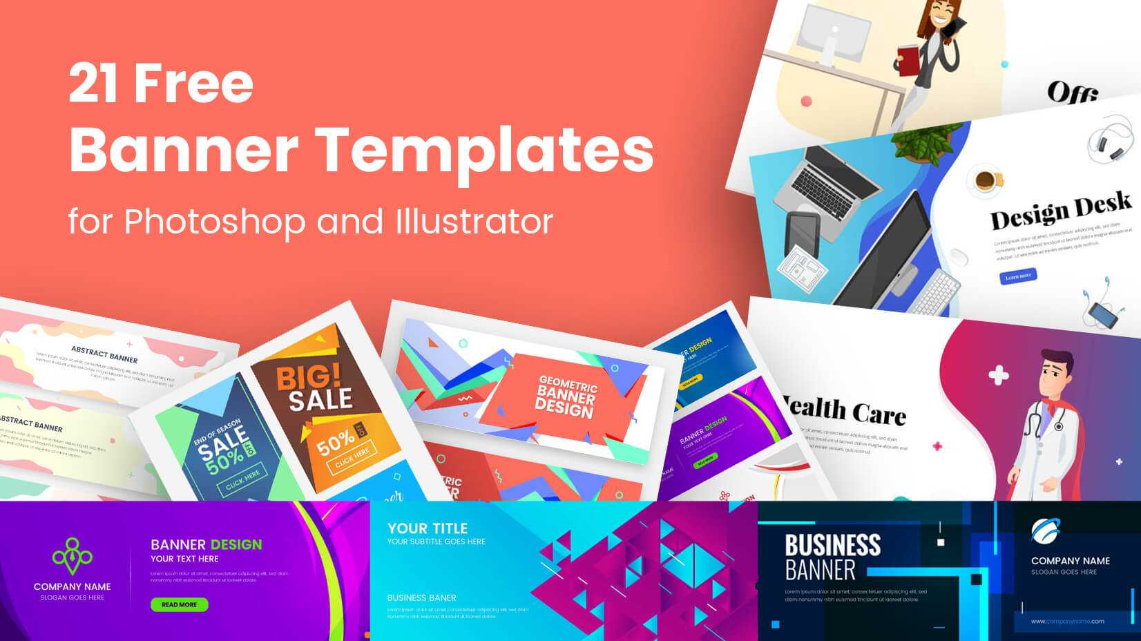 21 Free Banner Templates For Photoshop And Illustrator With Regard To Vinyl Banner Design Templates