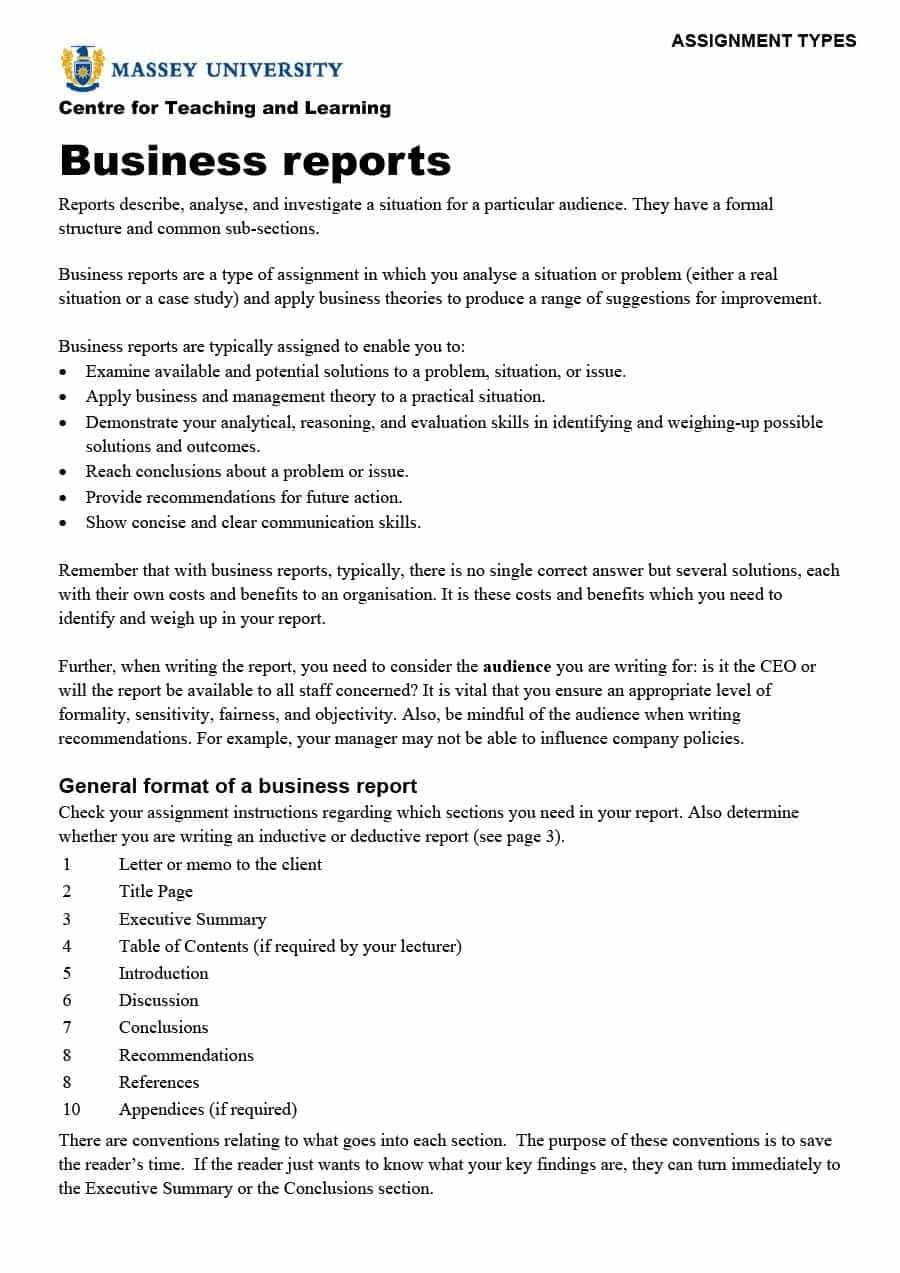30+ Business Report Templates & Format Examples ᐅ Templatelab With Regard To What Is A Report Template