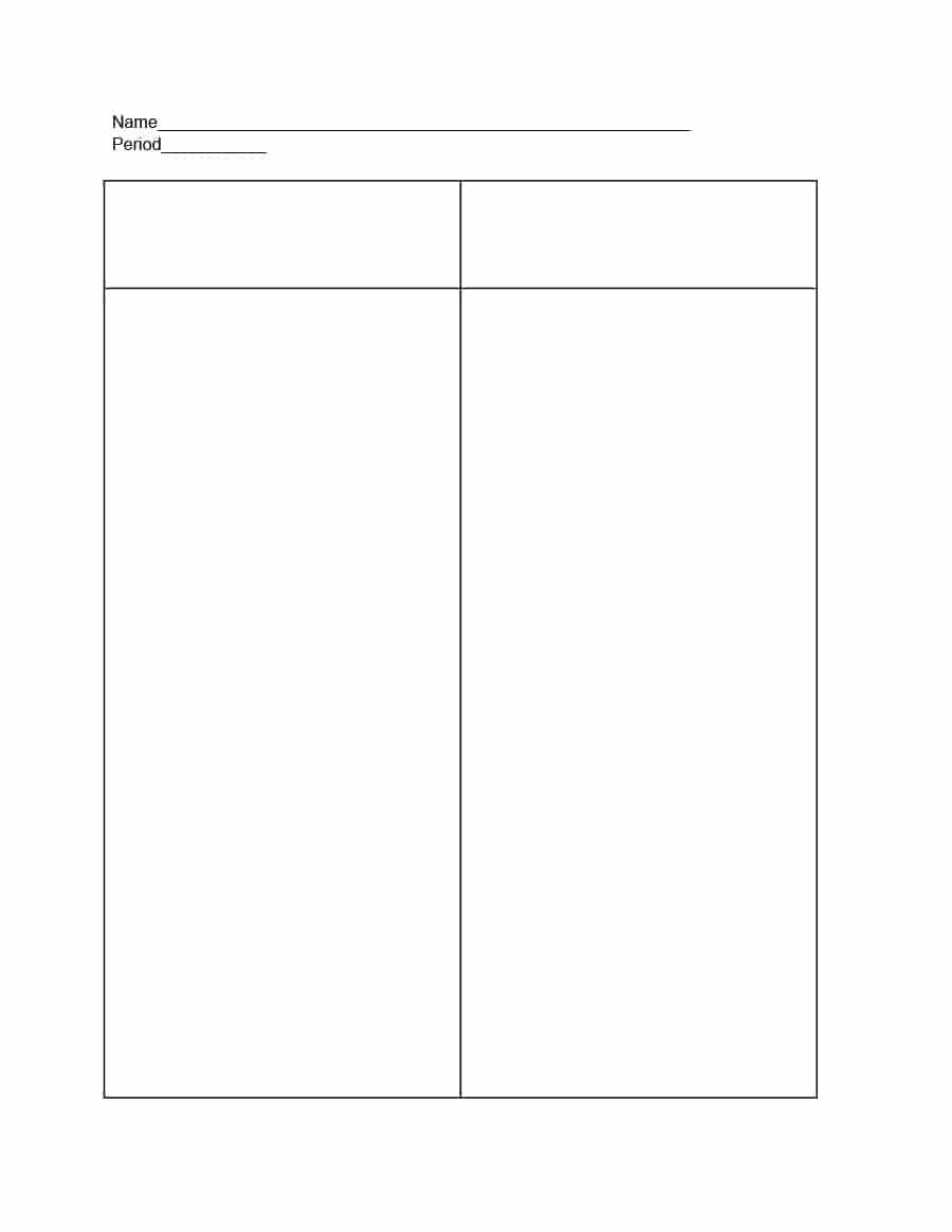 30 Printable T Chart Templates & Examples - Template Archive In T Chart Template For Word
