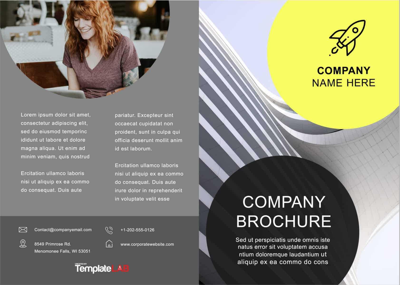 33 Free Brochure Templates (Word + Pdf) ᐅ Templatelab For Free Brochure Templates For Word 2010