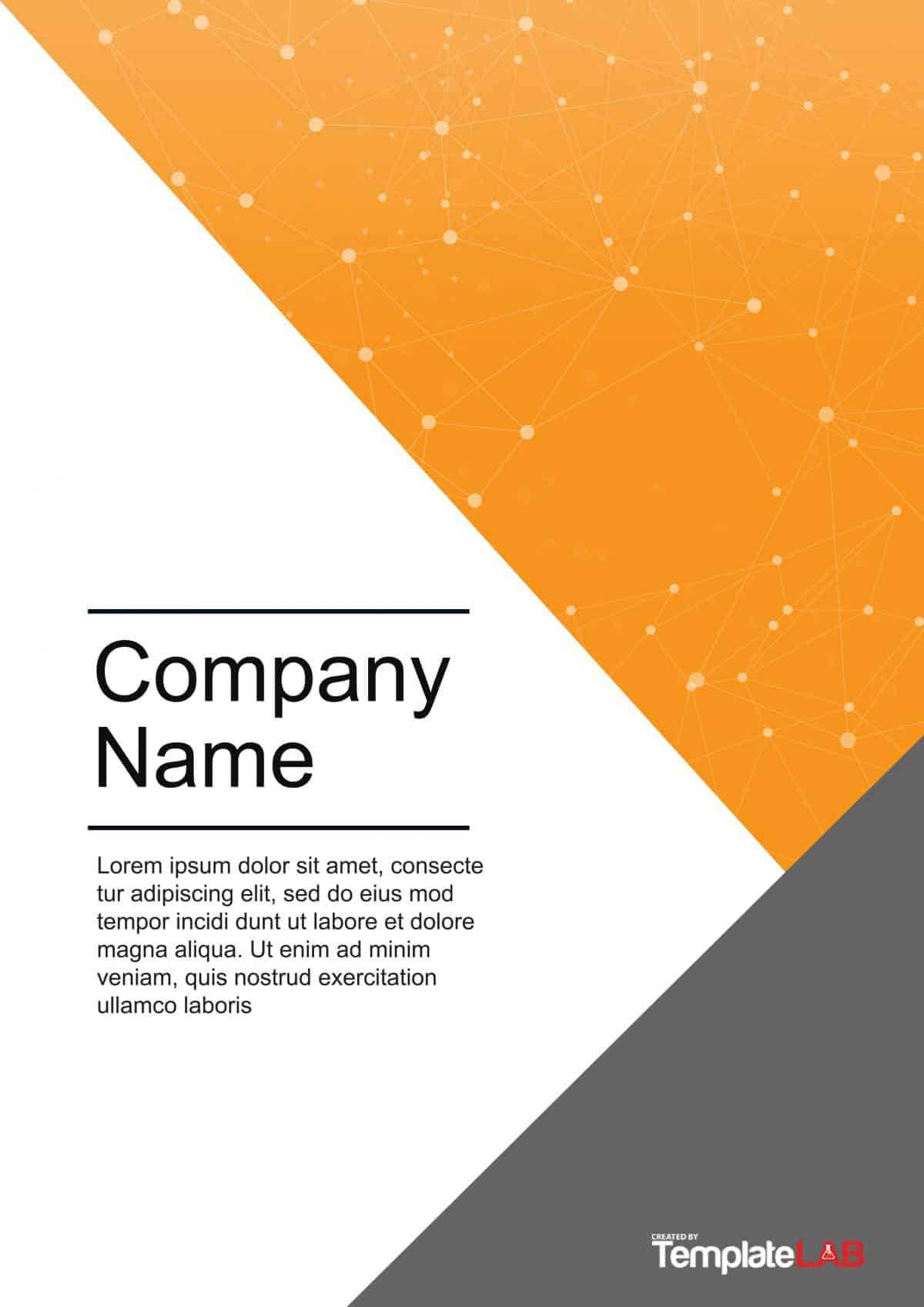 39 Amazing Cover Page Templates (Word + Psd) ᐅ Templatelab With Word Title Page Templates