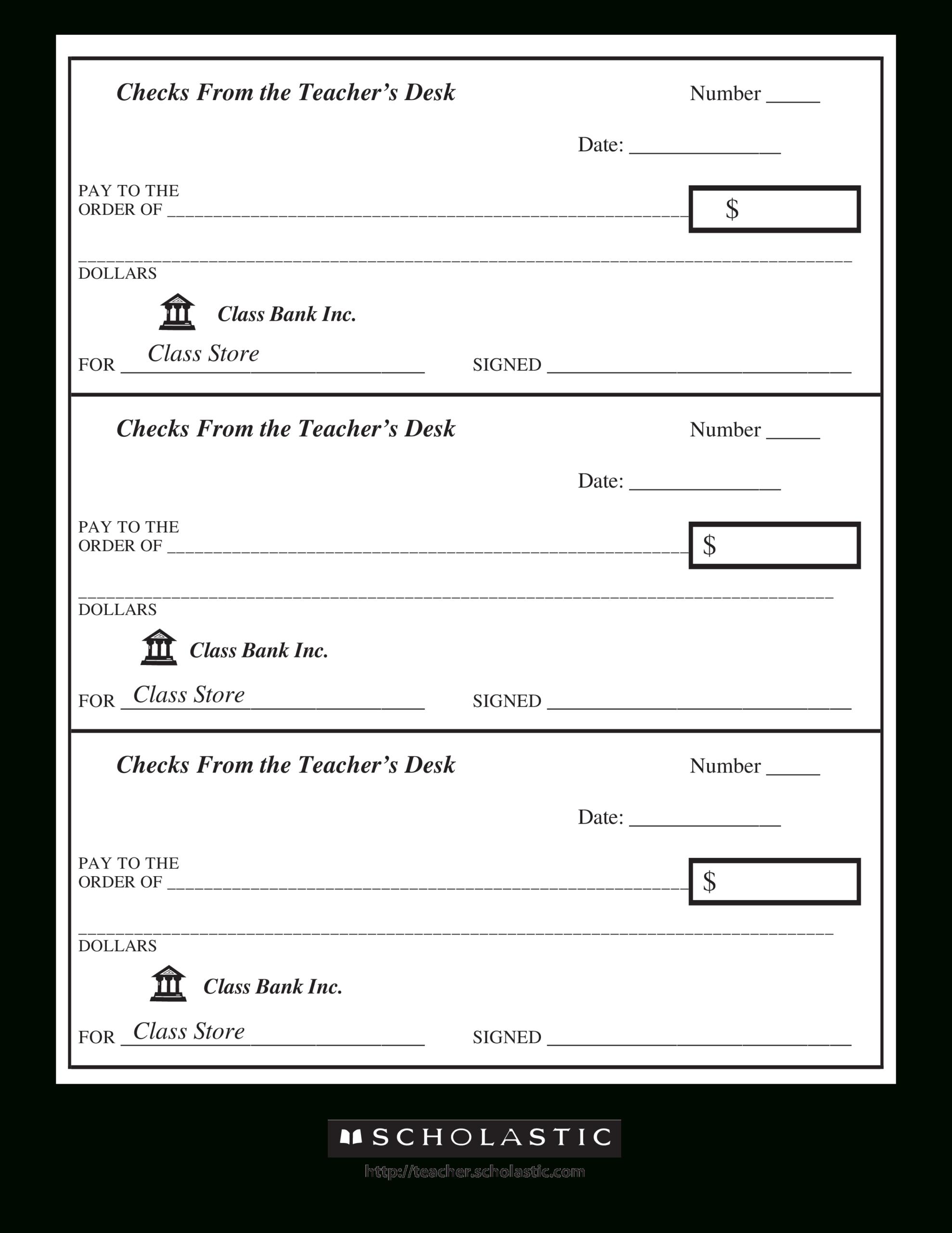 47+ Fake Blank Check Templates Fillable Doc, Psd, Pdf!! Pertaining To Customizable Blank Check Template