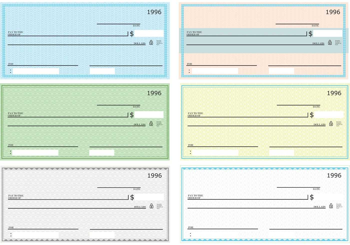 47+ Fake Blank Check Templates Fillable Doc, Psd, Pdf!! With Regard To Print Check Template Word