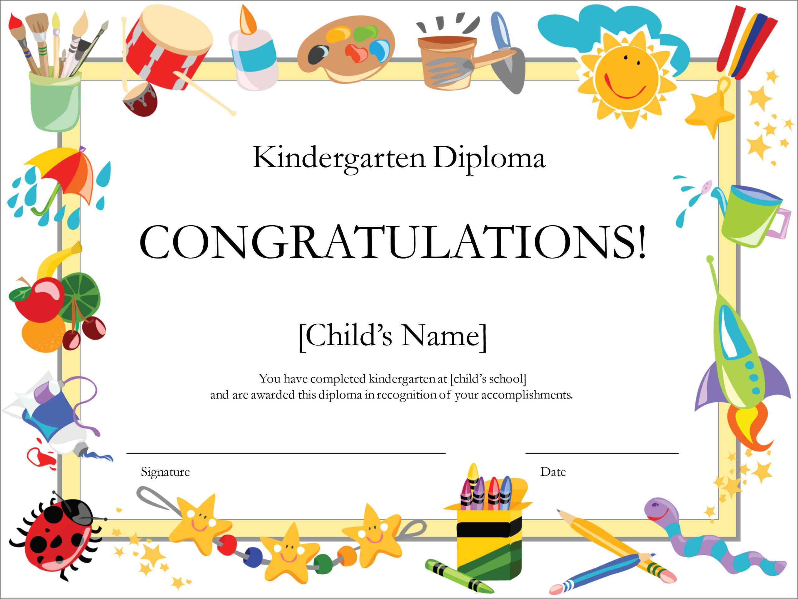 50 Free Creative Blank Certificate Templates In Psd Pertaining To Congratulations Certificate Word Template