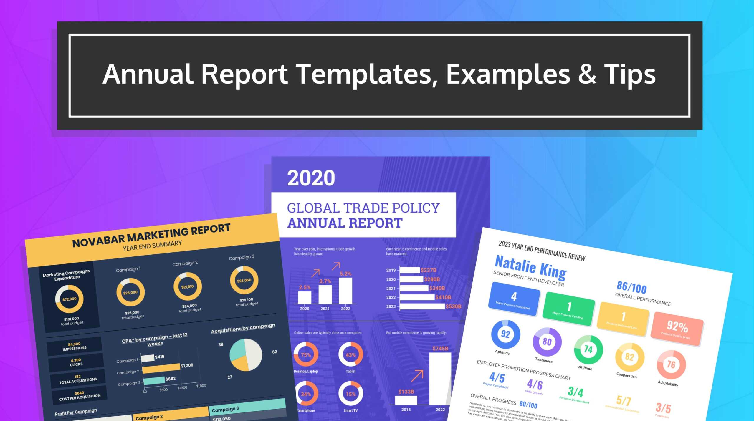 55+ Annual Report Design Templates & Inspirational Examples Within Project Status Report Template Word 2010