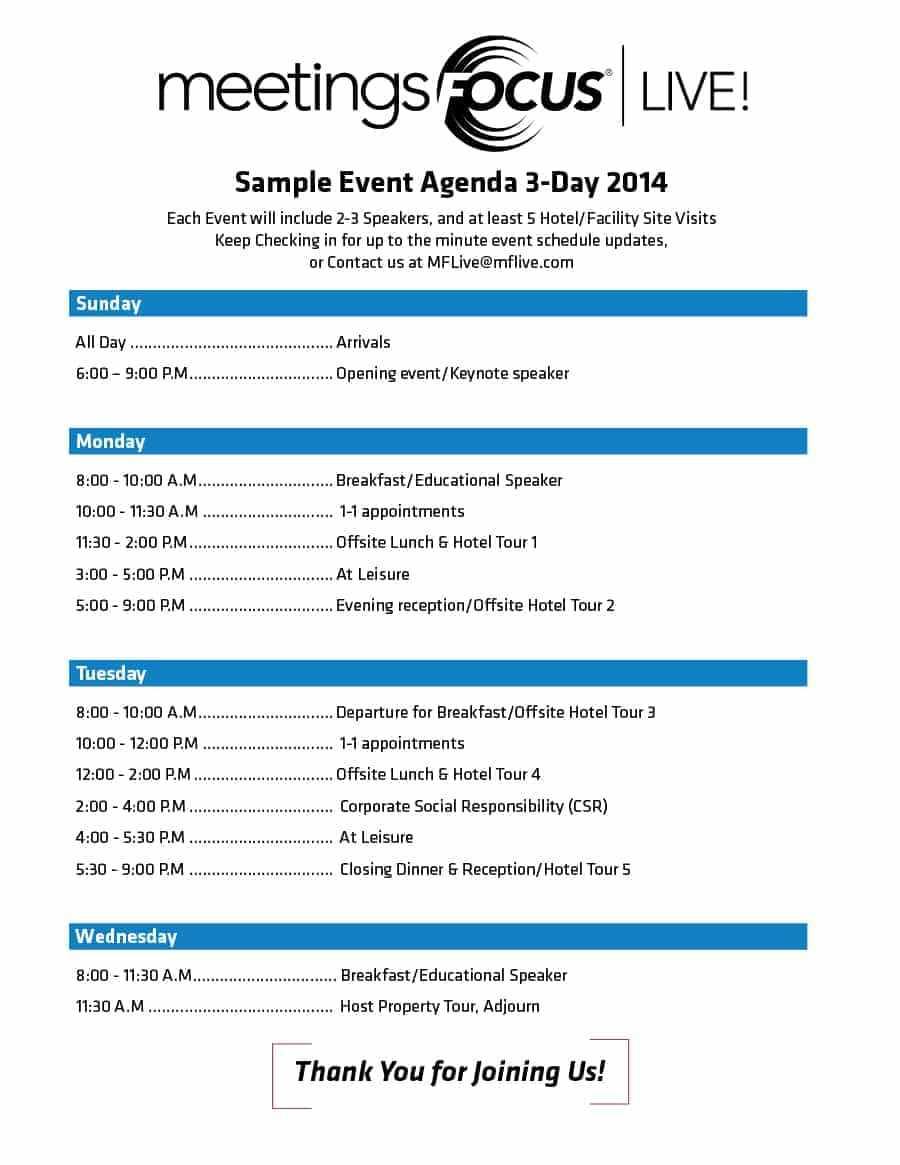 67 Printable Event Agenda Template Doc In Wordevent Within Event Agenda Template Word