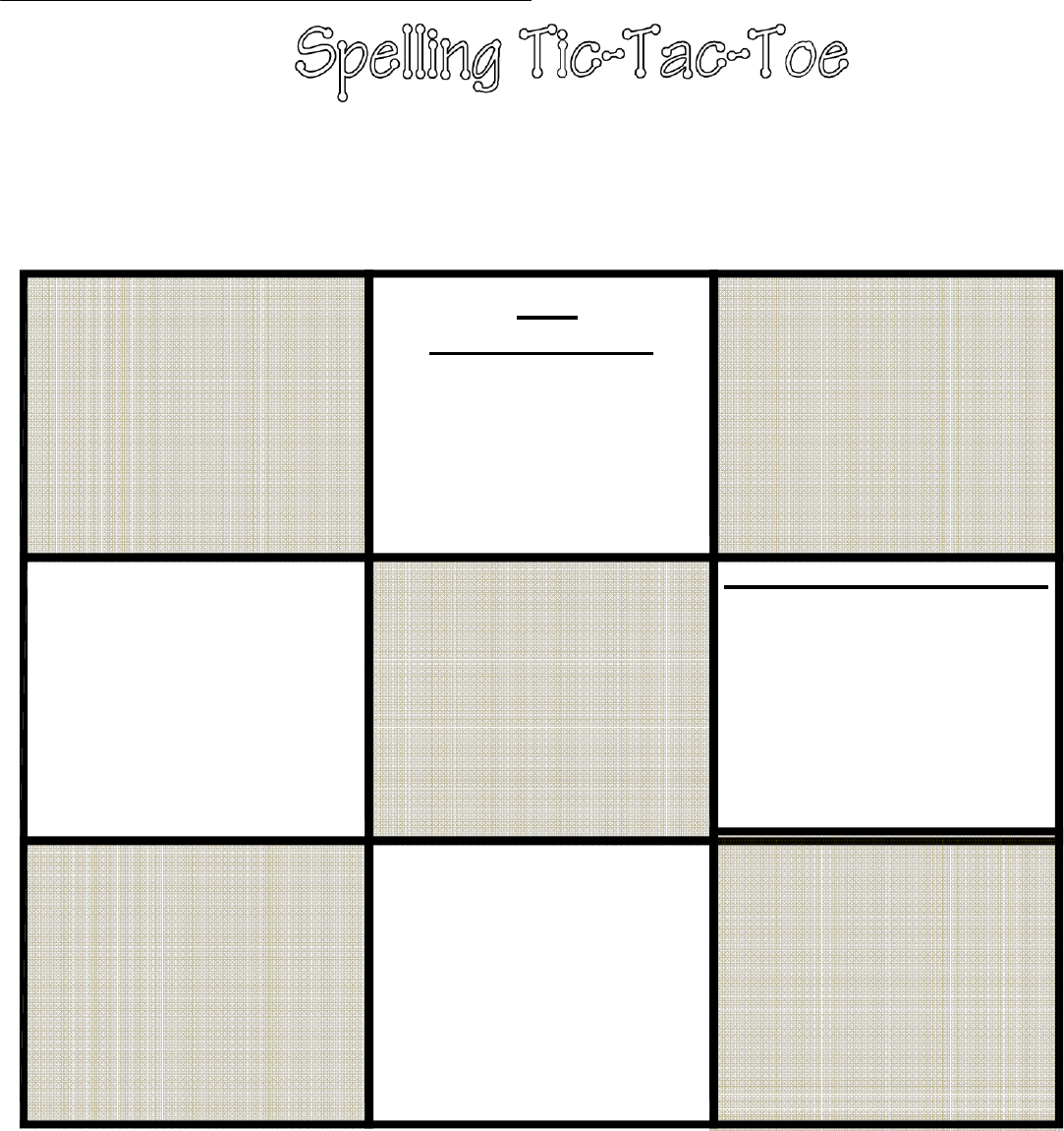 67A Tic Tac Toe Template | Wiring Library In Tic Tac Toe Template Word