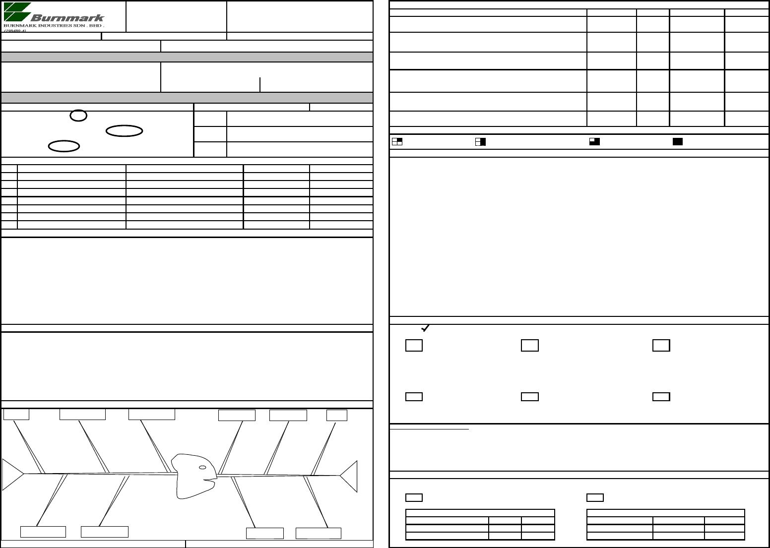 8D Report Format - [Xls Document] Throughout 8D Report Template Xls