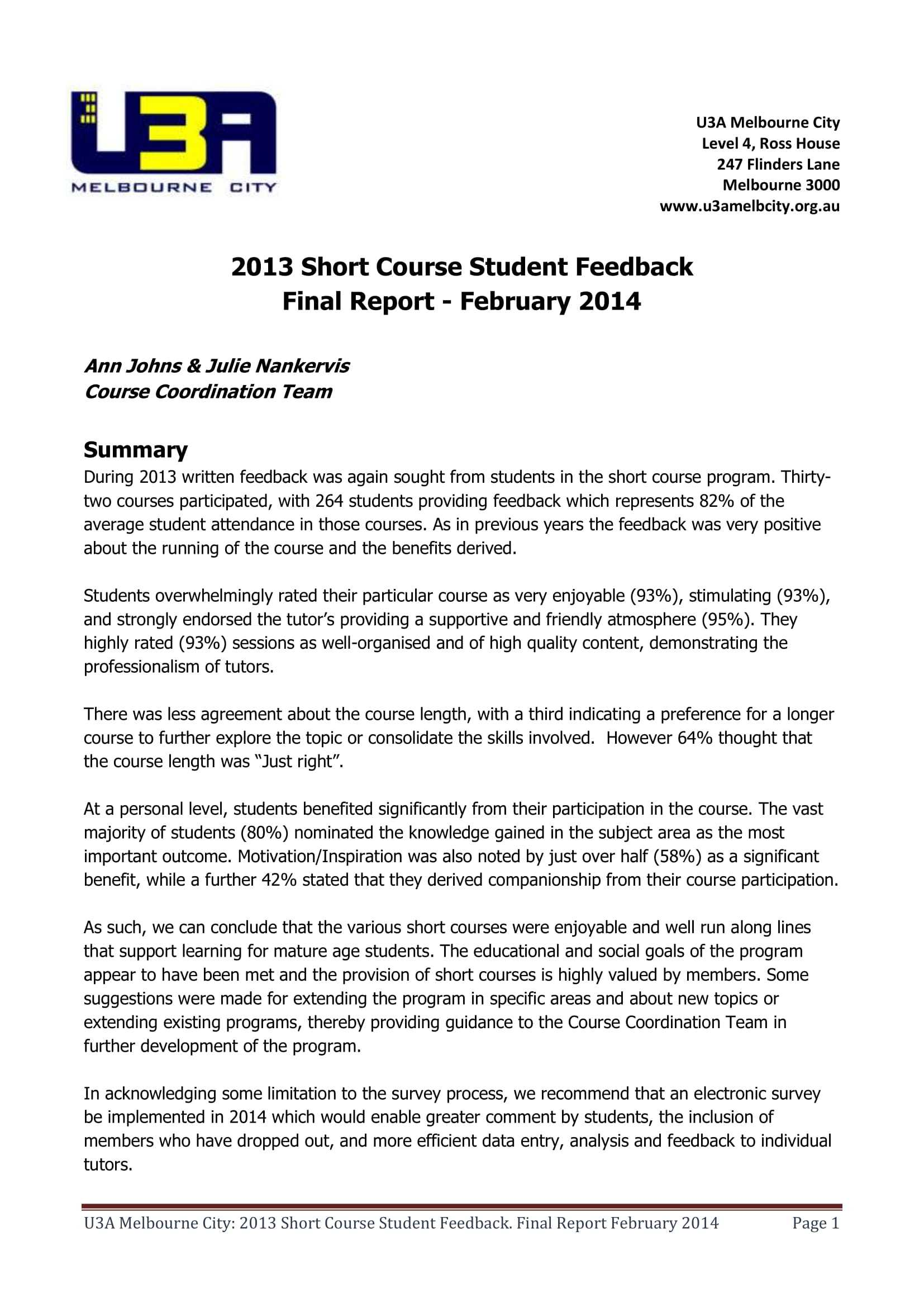 9+ Report Writing Example For Students - Pdf, Doc | Examples With Regard To Pupil Report Template