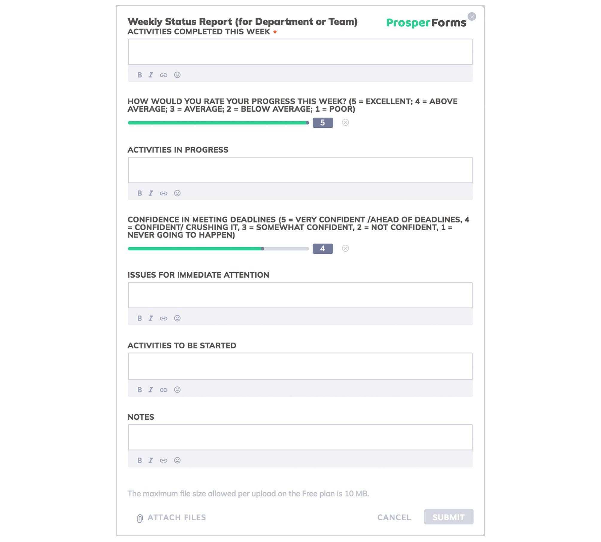An Outstanding Business Progress Report [Free Template Download] Regarding Company Progress Report Template