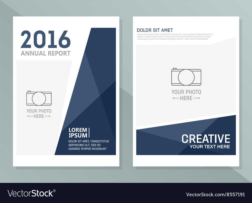 Annual Report Design Templates Business With Annual Report Word Template