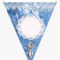 Banderín – – Frozen Birthday Banner Printable, Hd Png With Cars Birthday Banner Template