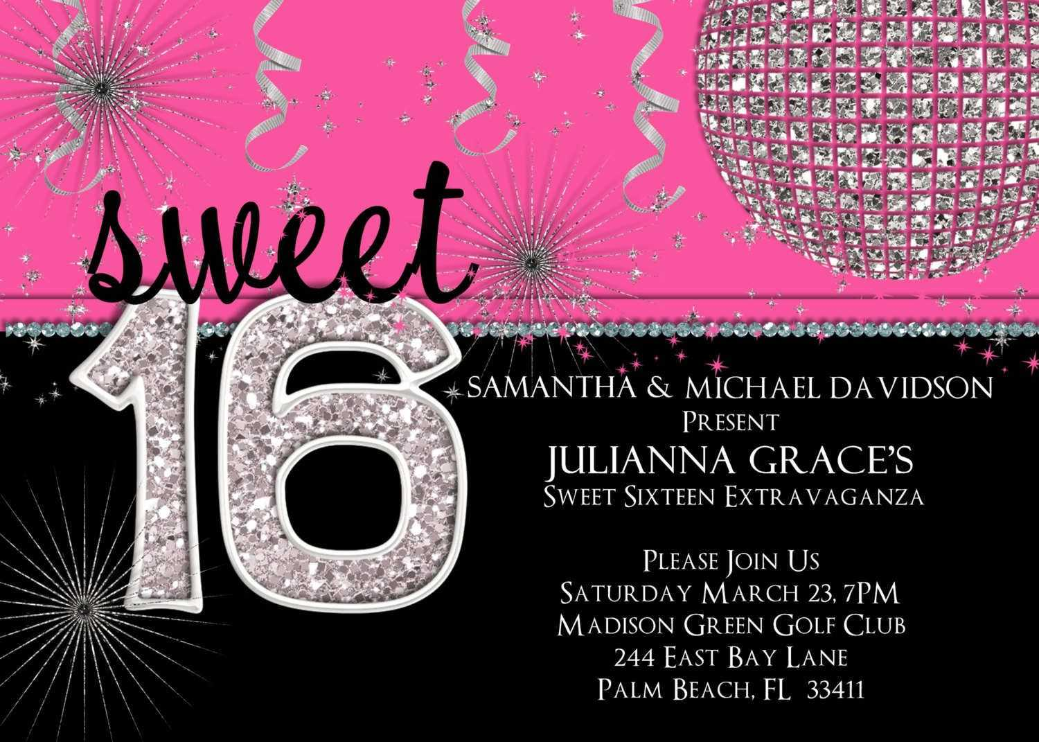 Best 54+ Sweet Sixteen Backgrounds On Hipwallpaper | Sweet With Sweet 16 Banner Template
