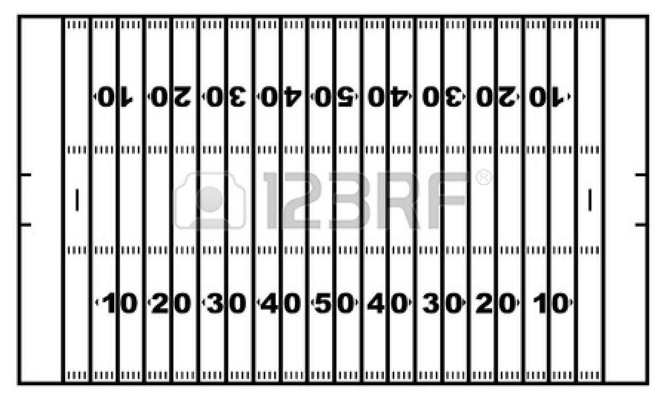 Blank Football Field Template | Free Download On Clipartmag With Blank Football Field Template