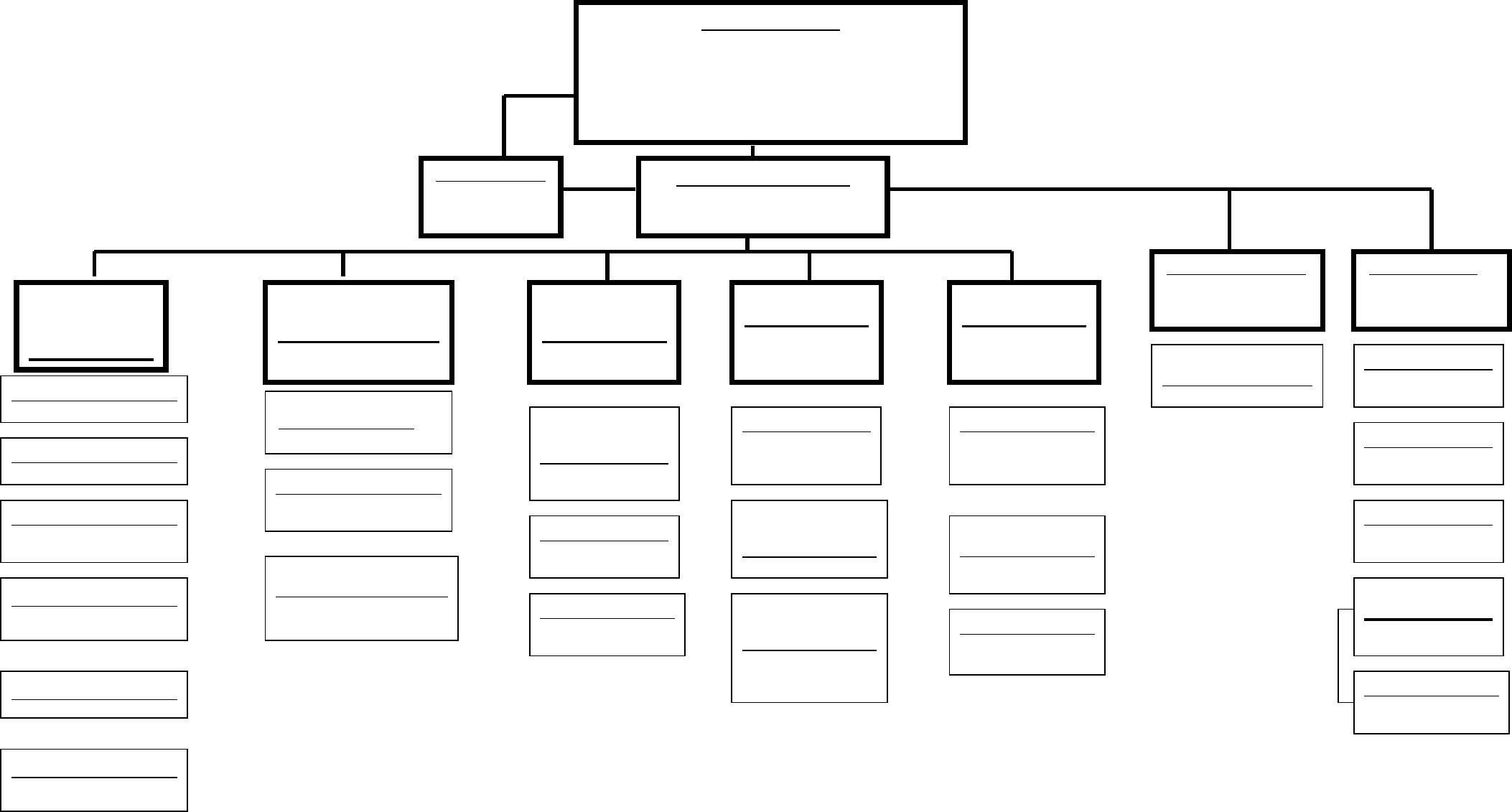 Blank Organizational Chart - Cumberland College Free Download Inside Free Blank Organizational Chart Template