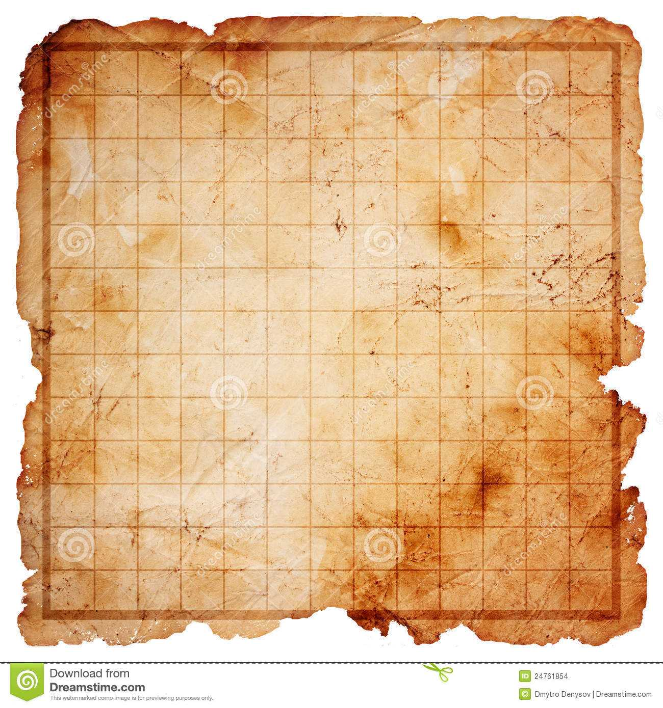 Blank Treasure Map Clipart In Blank Pirate Map Template