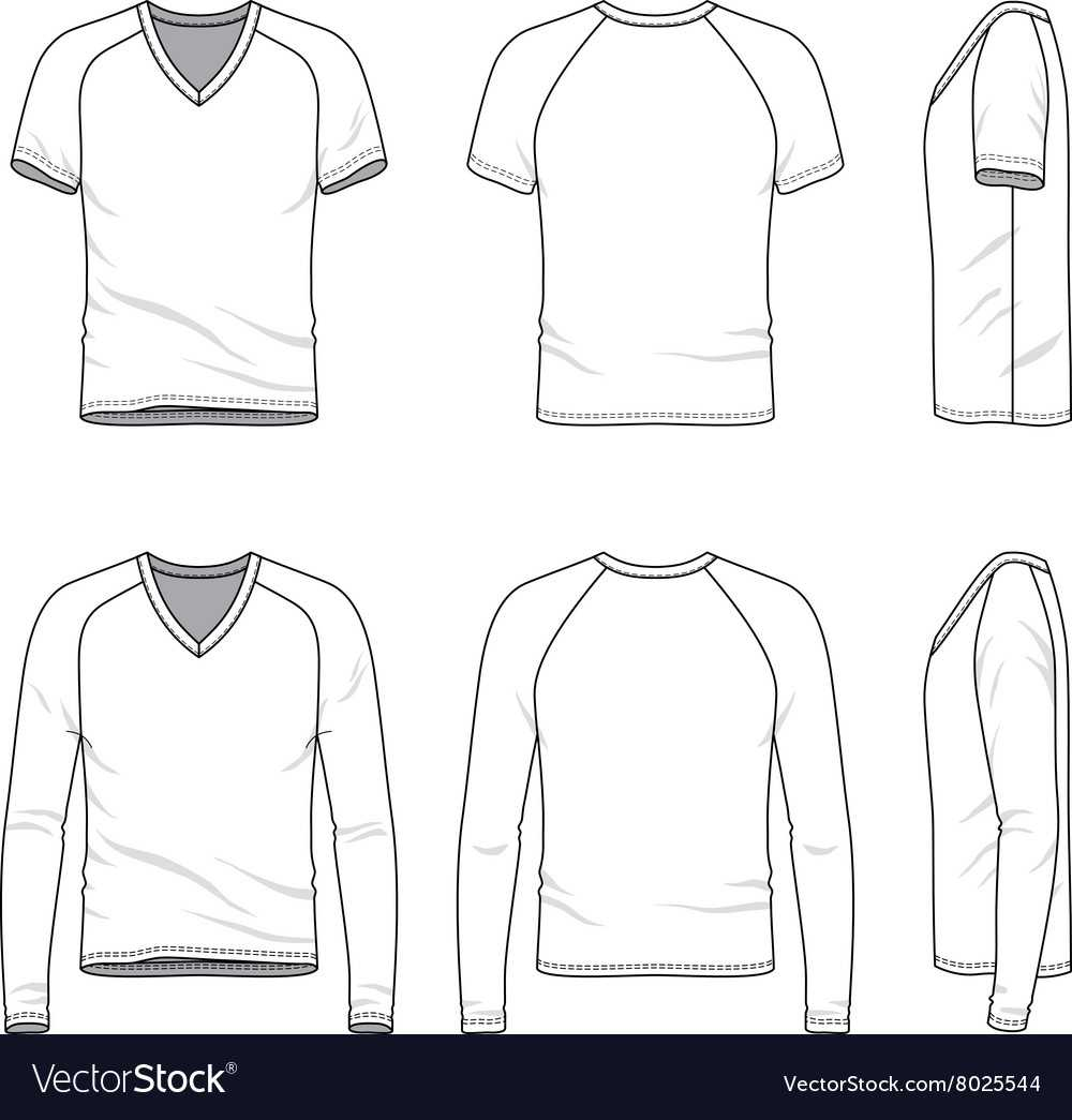 Blank V Neck T Shirt And Tee Inside Blank V Neck T Shirt Template