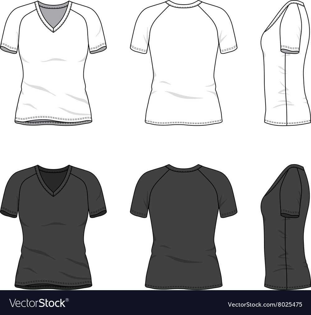 Blank V Neck T Shirt With Blank V Neck T Shirt Template
