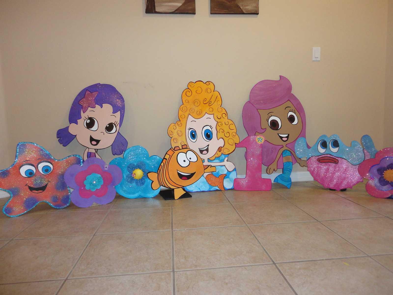 Bubble Guppies Birthday Decorations   Bob Doyle Home With Regard To Bubble Guppies Birthday Banner Template