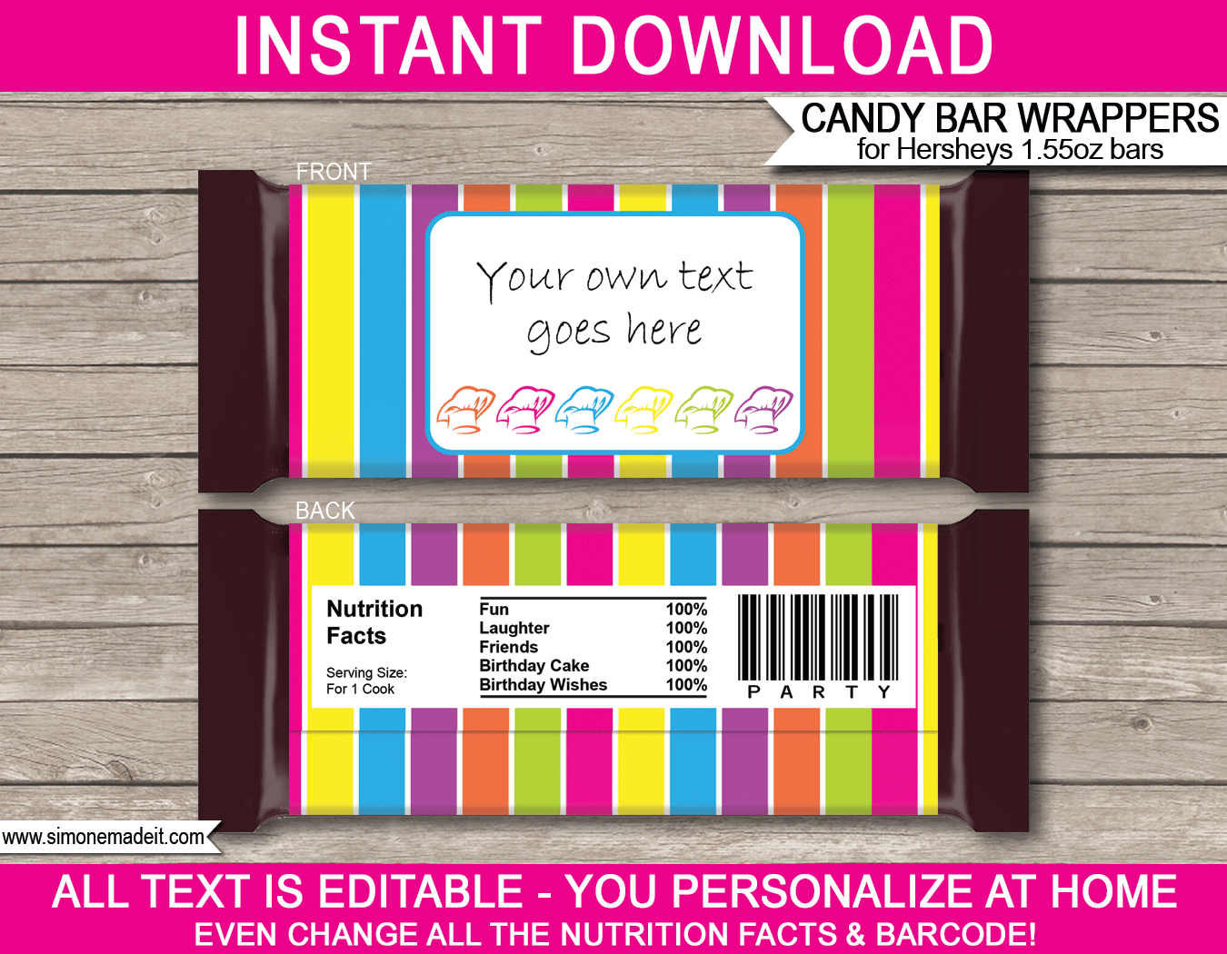 Candy Bar Wrapper Template For Mac - Ameasysite For Candy Bar Wrapper Template For Word