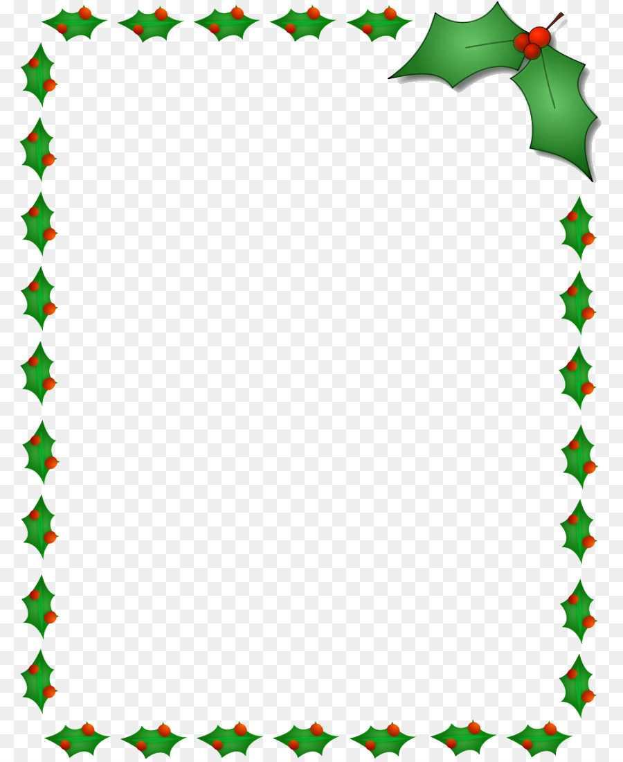 Christmas Santa Claus Microsoft Word Template Clip Christmas For Christmas Border Word Template