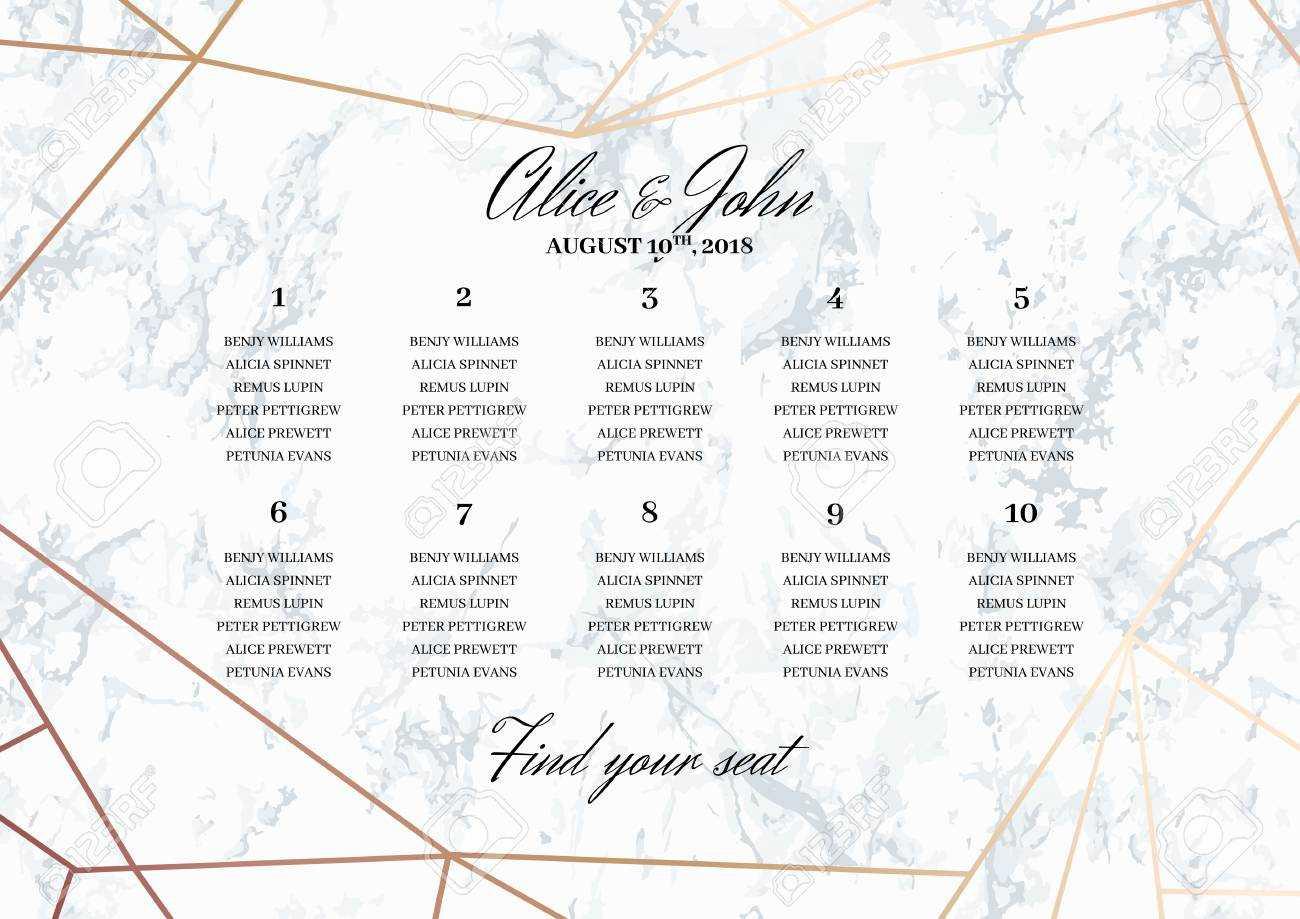 Elegant Wedding Seating Chart Poster Template 18 Best D I Y In Wedding Seating Chart Template Word