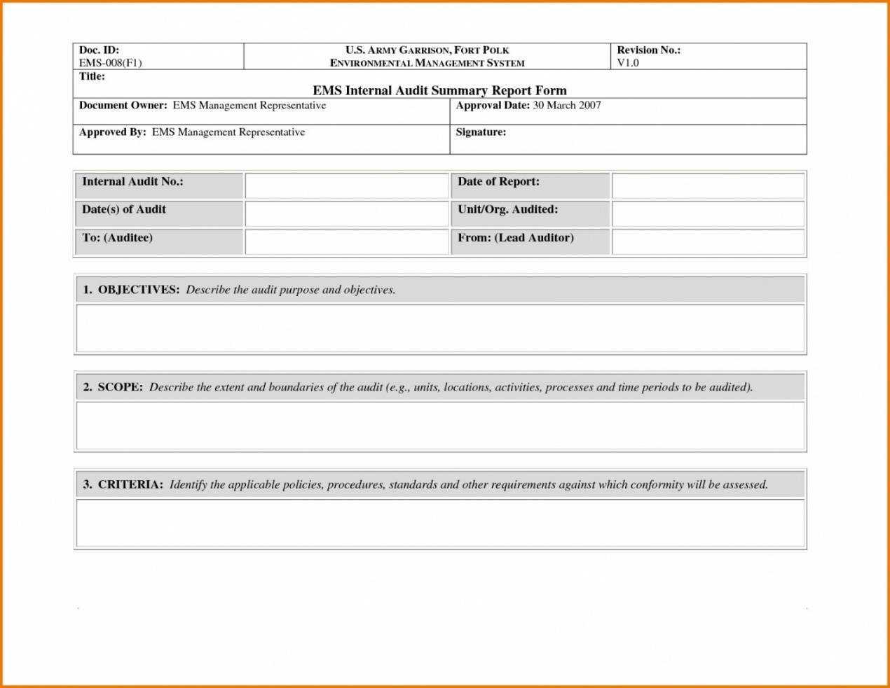 Free Non Conformance Report Template Kleobergdorfbibco Non For Non Conformance Report Form Template