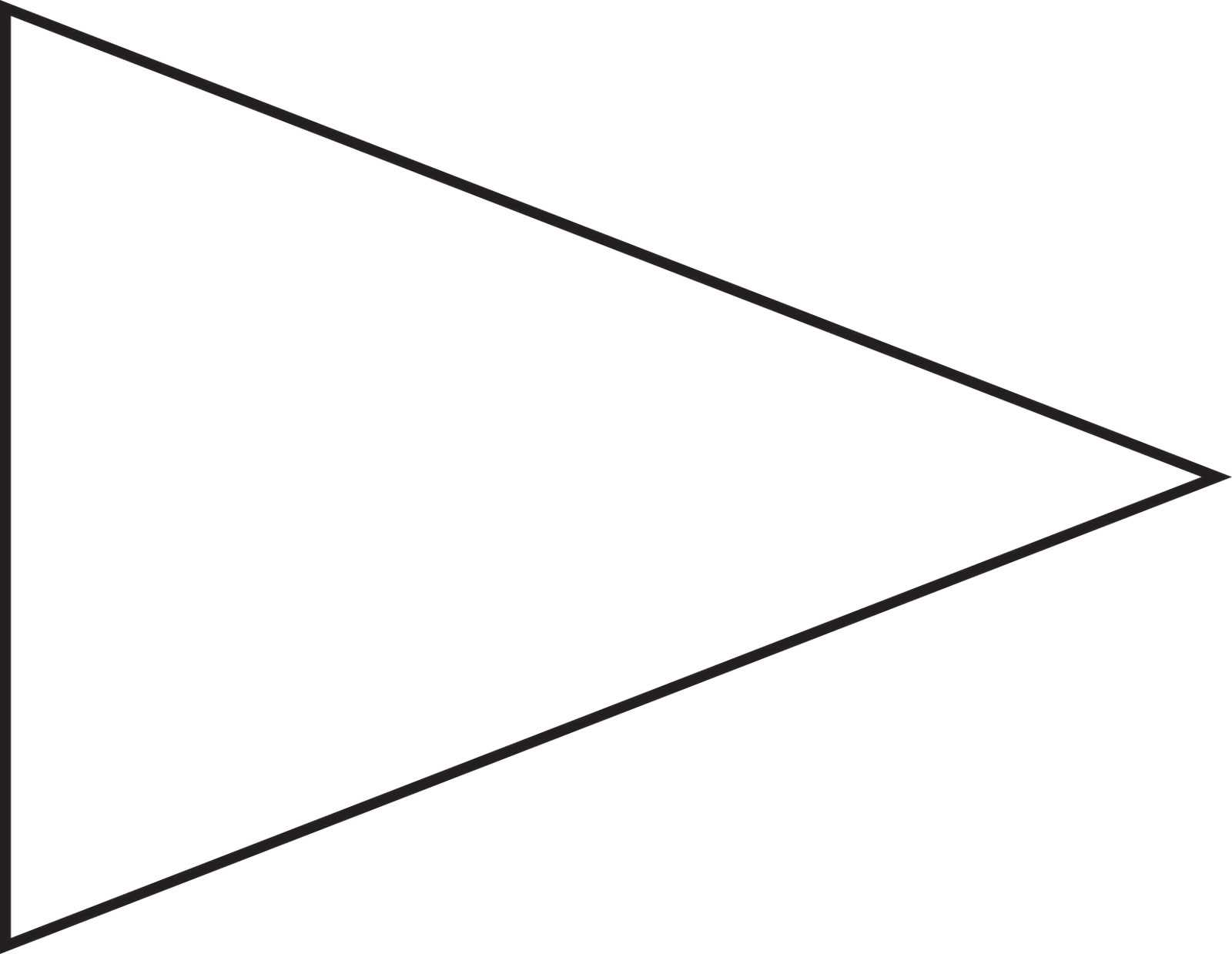 Free Pennant Banner Template, Download Free Clip Art, Free Throughout Free Printable Pennant Banner Template