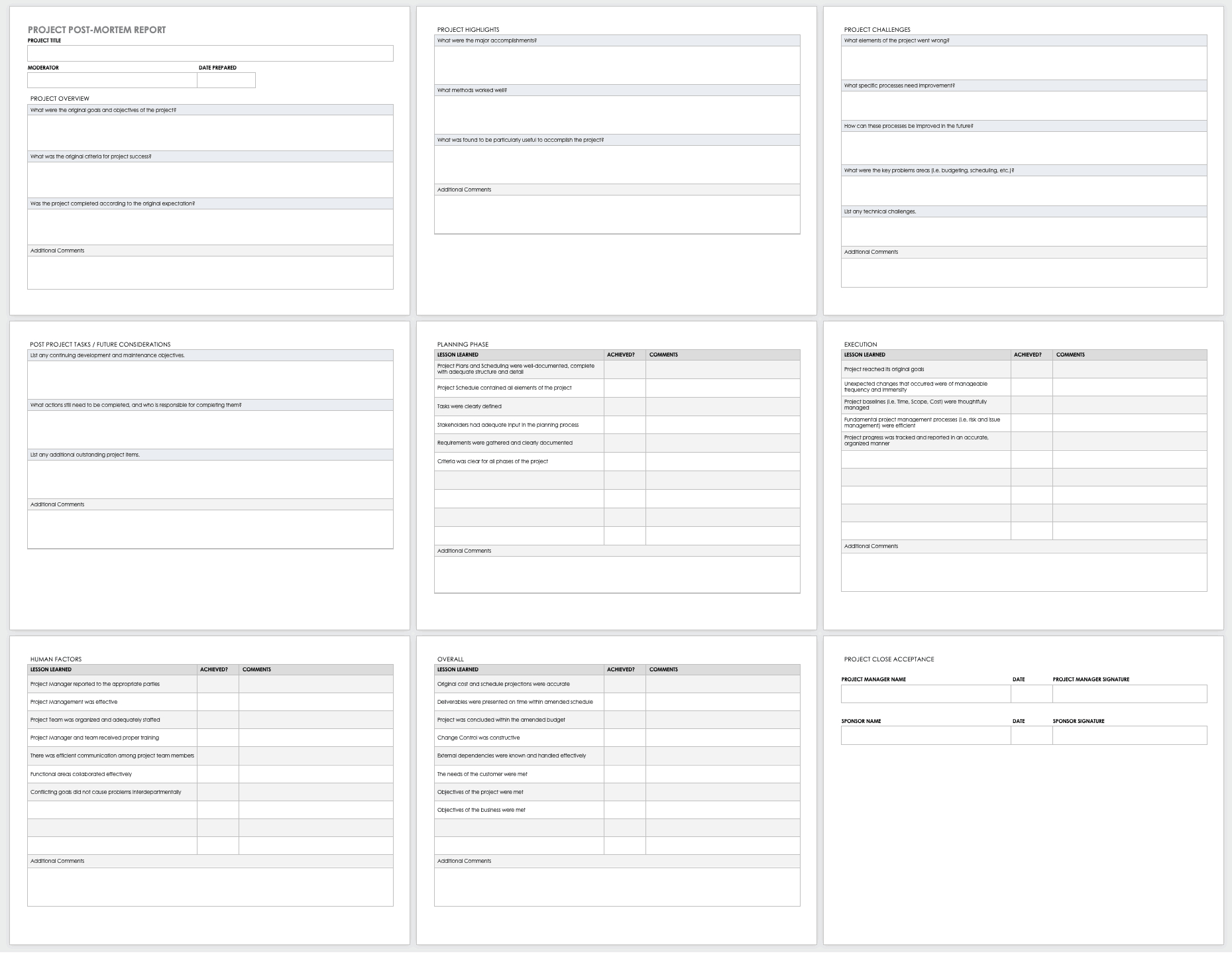 Free Project Report Templates | Smartsheet In Post Project Report Template