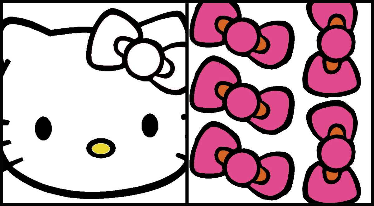 Hello Kitty Pin The Bow Game – The Sweet Life Within Hello Kitty Banner Template