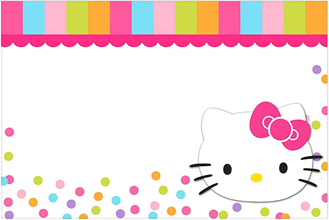 Hello Kitty Printable Template – Karati.ald2014 With Hello Kitty Banner Template