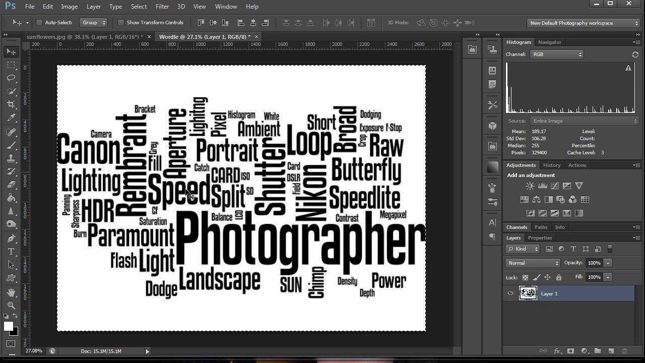 How To Make A Word Cloud In Photoshop Throughout Free Word Collage Template
