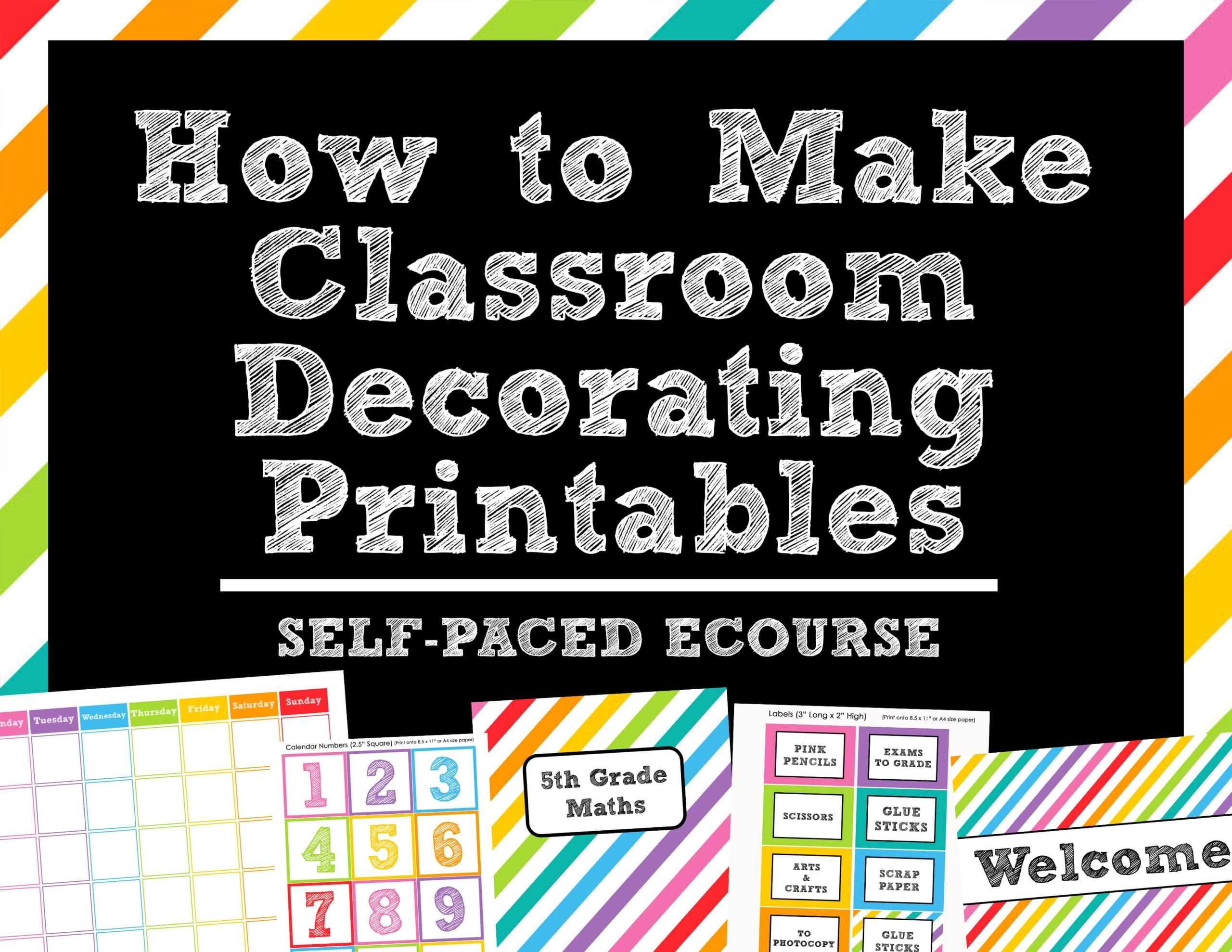 How To Make Teaching Printables And Classroom Decorating Pertaining To Blank Word Wall Template Free