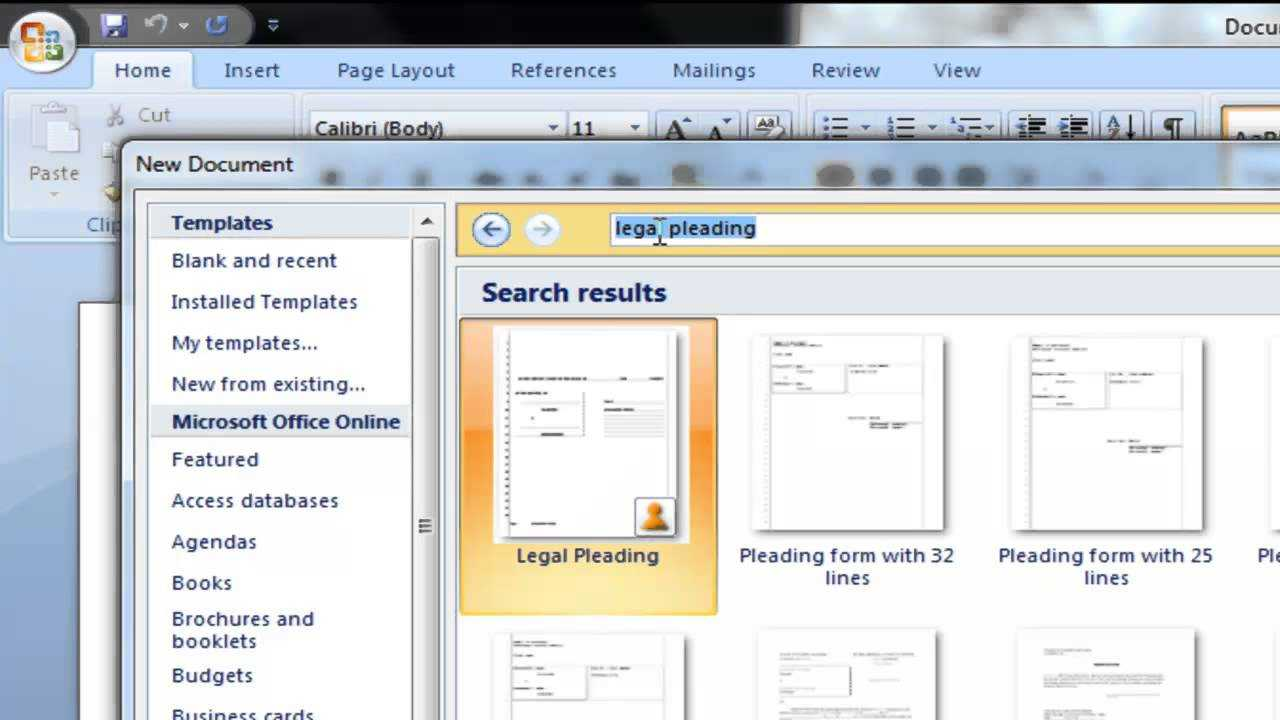 How To Obtain Pleading Paper With Microsoft Word In Notebook Paper Template For Word 2010