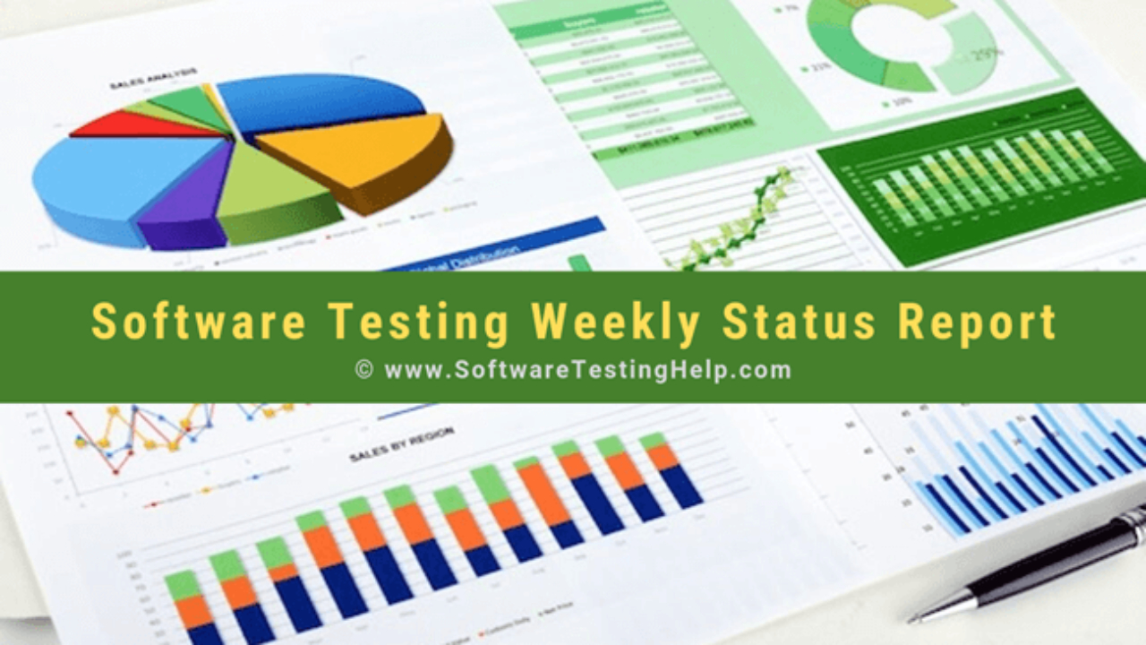 How To Write Software Testing Weekly Status Report Regarding Software Testing Weekly Status Report Template