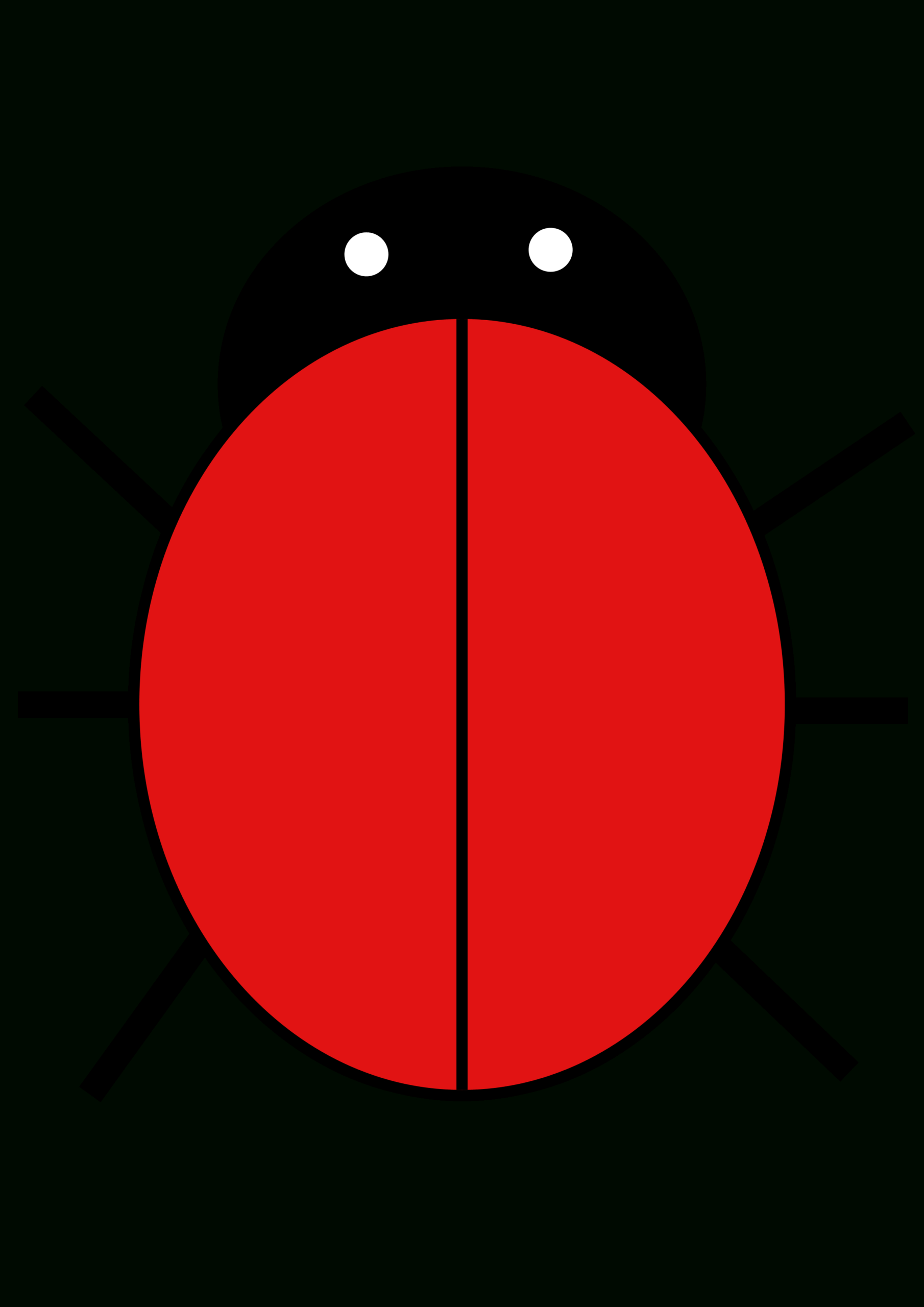 Ladybird | Free Images At Clker - Vector Clip Art Online In Blank Ladybug Template