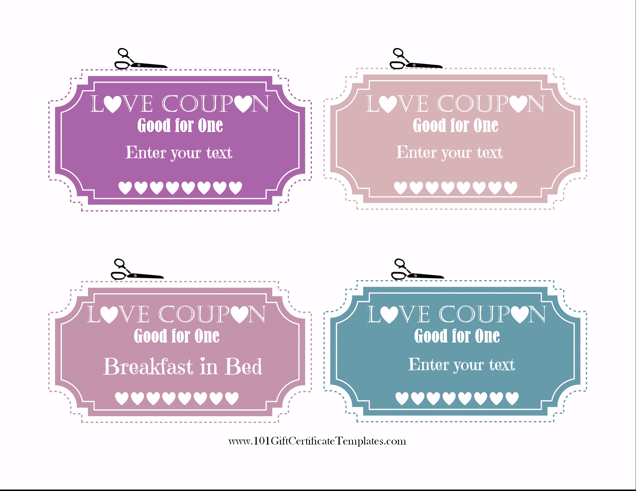 Love Coupons Templates Free - Karan.ald2014 Pertaining To Love Coupon Template For Word