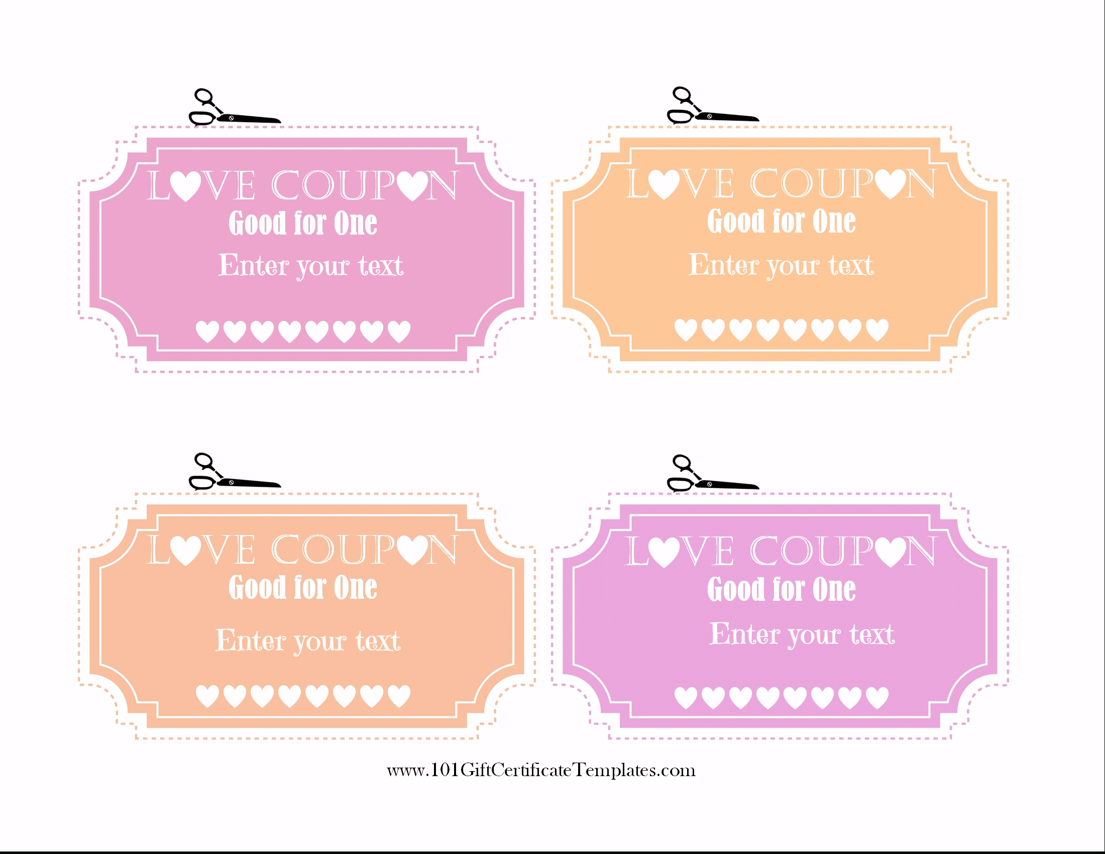 Love Coupons Throughout Love Coupon Template For Word