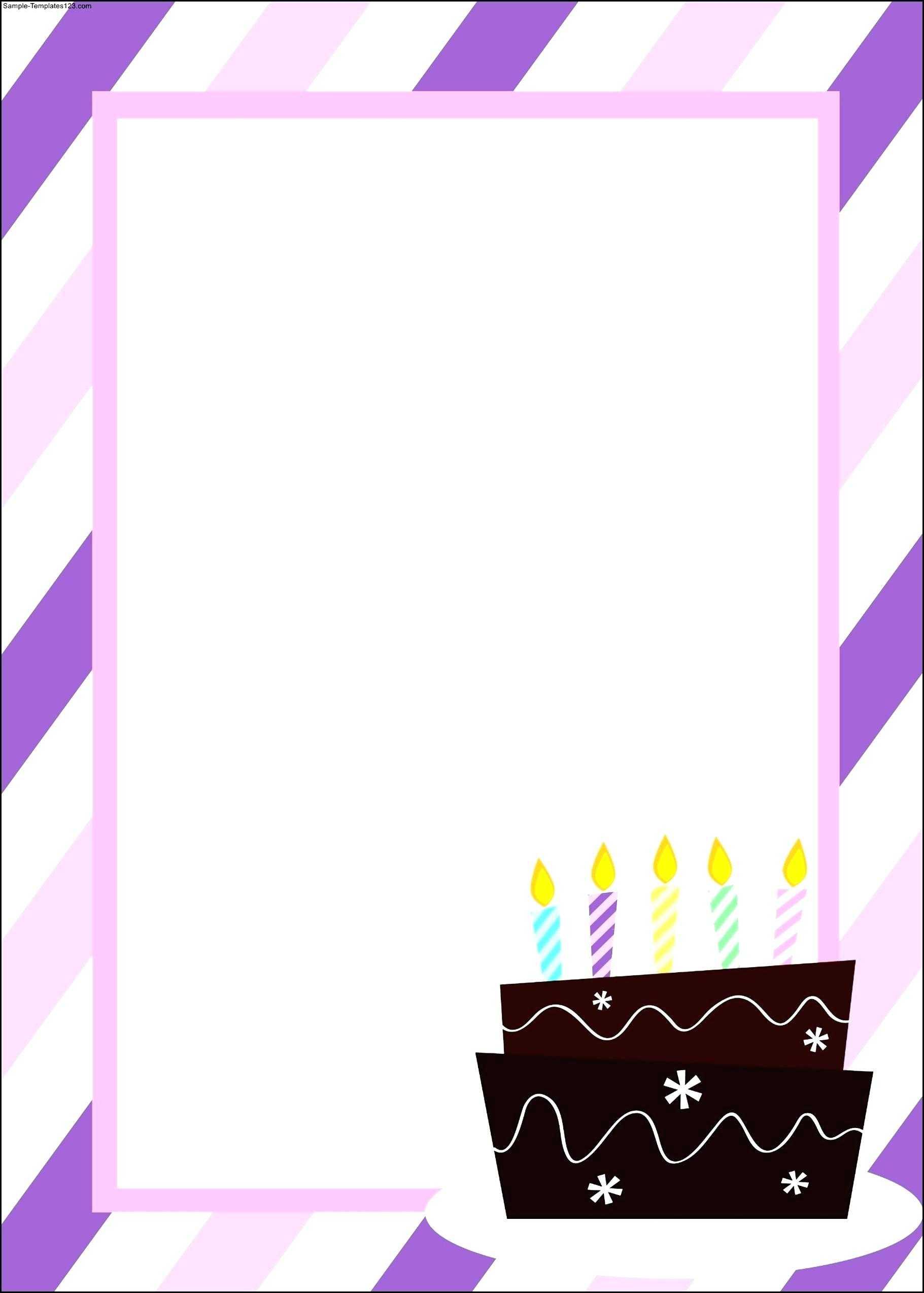 Minion Invitations Template – Vmarques Within Blank Templates For Invitations