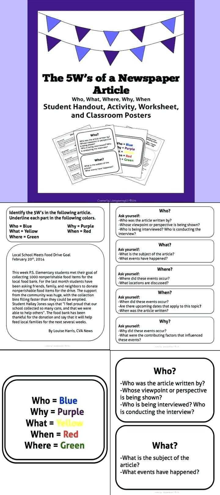 Newspaper Template For Students – Heartwork Within News Report Template