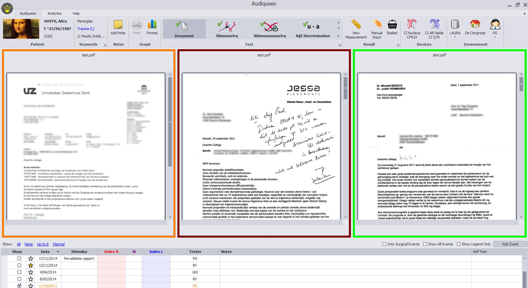 Otoconsult – Documents Regarding Software Test Report Template Xls
