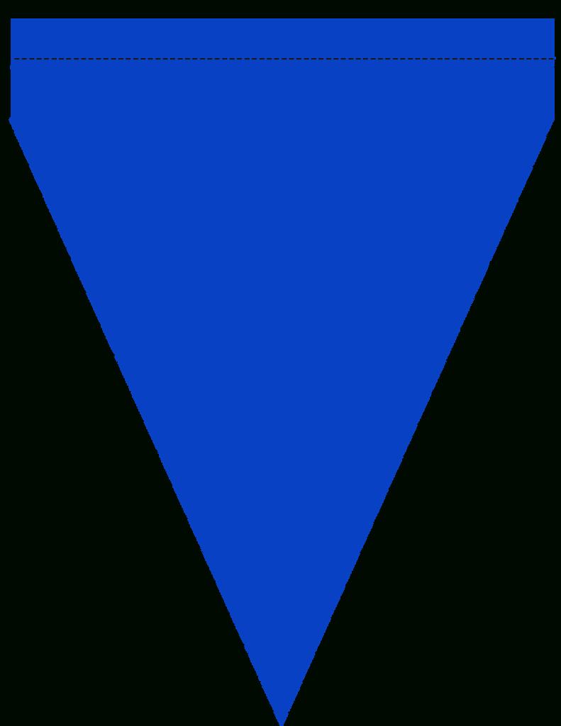 Pennant Clipart Banner Template, Pennant Banner Template Pertaining To Triangle Pennant Banner Template