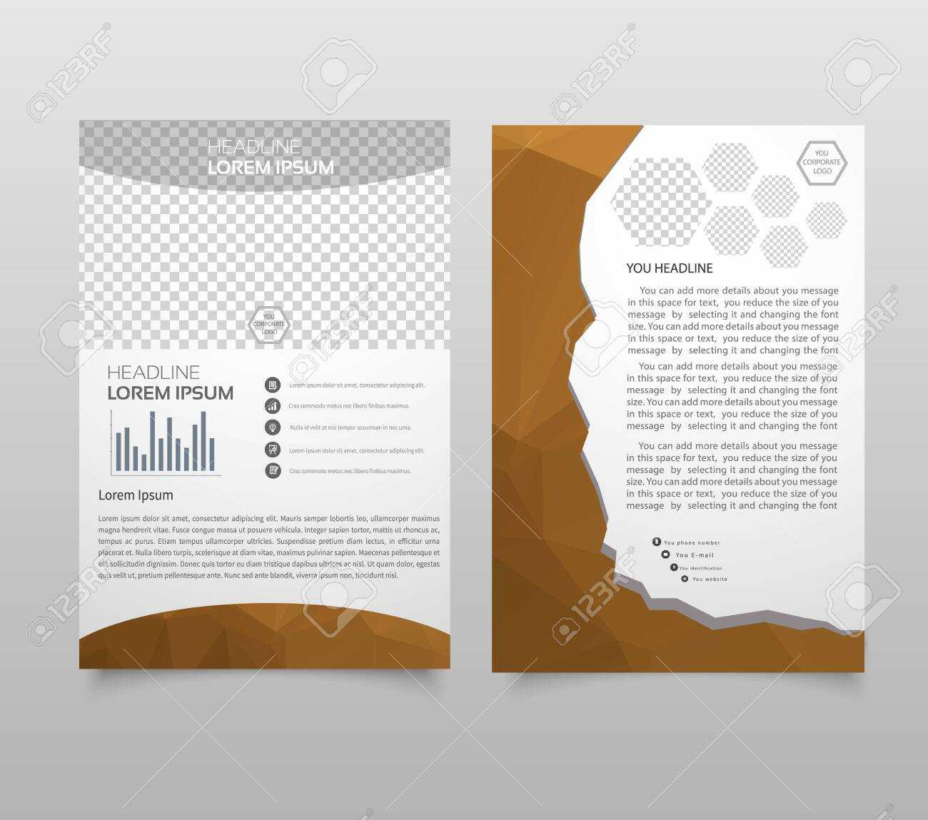 Presentation Layout Design Template. Annual Report Cover Page Pertaining To Noc Report Template