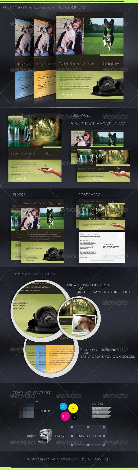 Print Ad Template Graphics, Designs & Templates Pertaining To Magazine Ad Template Word