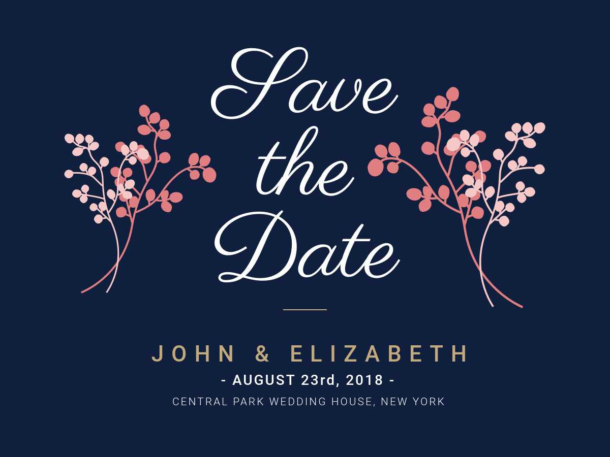 Save The Date - Banner Template With Regard To Save The Date Banner Template